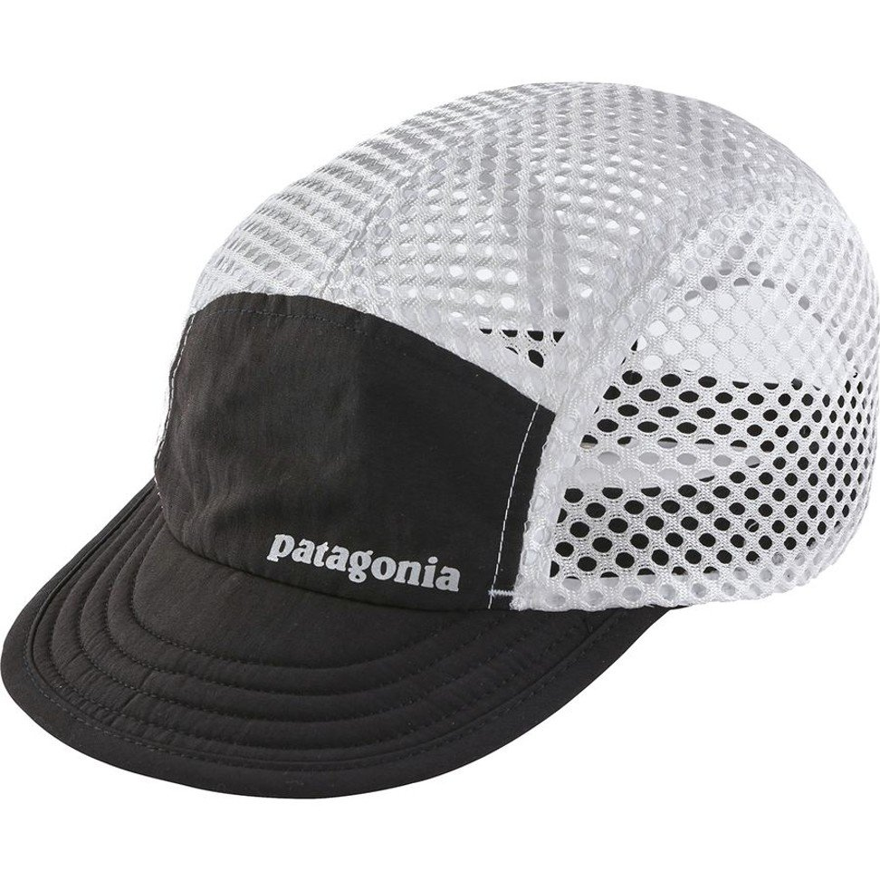 The Patagonia Duckbill Cap's brim and crown are made from recycled Patagonia shorts. Photo: Patagonia