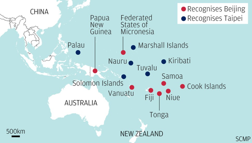 Choose Beijing over Taipei, Solomon Islands task force recommends amid changing tides in Pacific