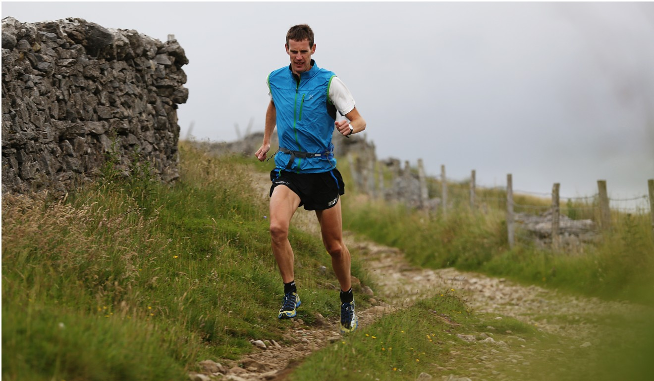 Rob Jebb runs the Three Peaks in Yorkshire, Northern England. He has also won the Three Peaks cyclo cross 11 times. Photo: Steve Thomas