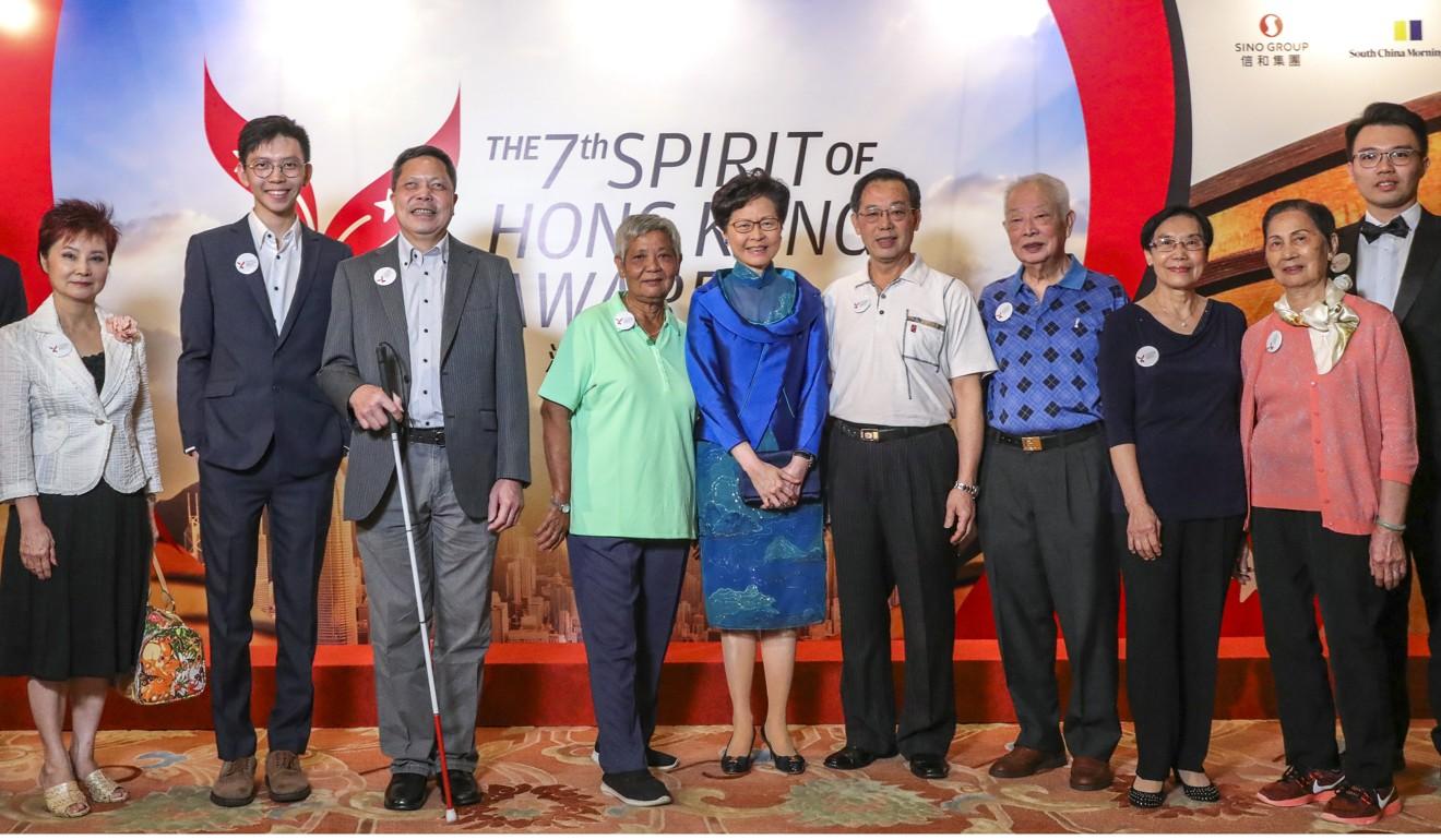 Teens who designed English lessons for less privileged students win inaugural youth award at Spirit of Hong Kong awards