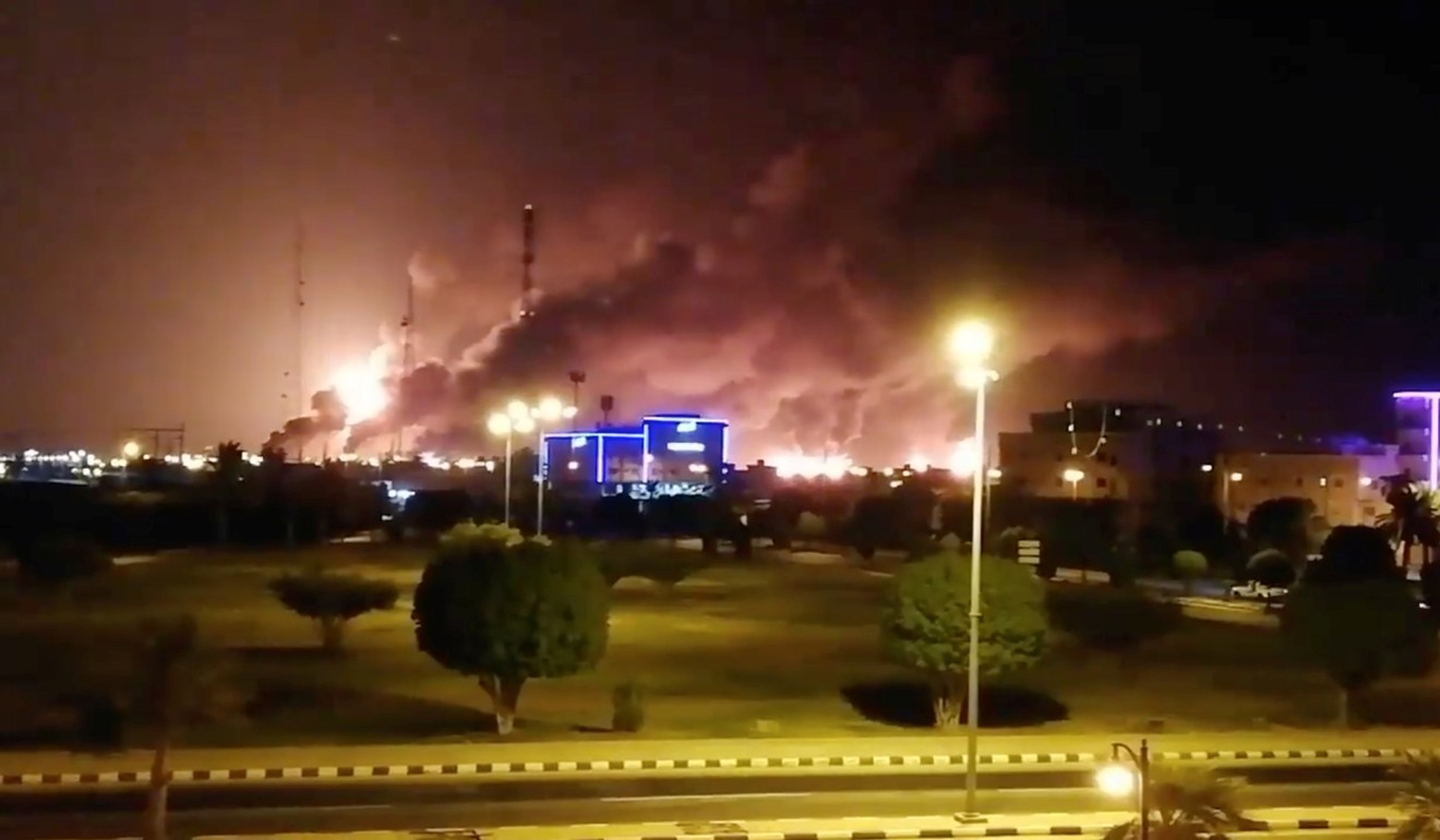 Drone attack sparks fires at Saudi Arabia's largest oil facilities