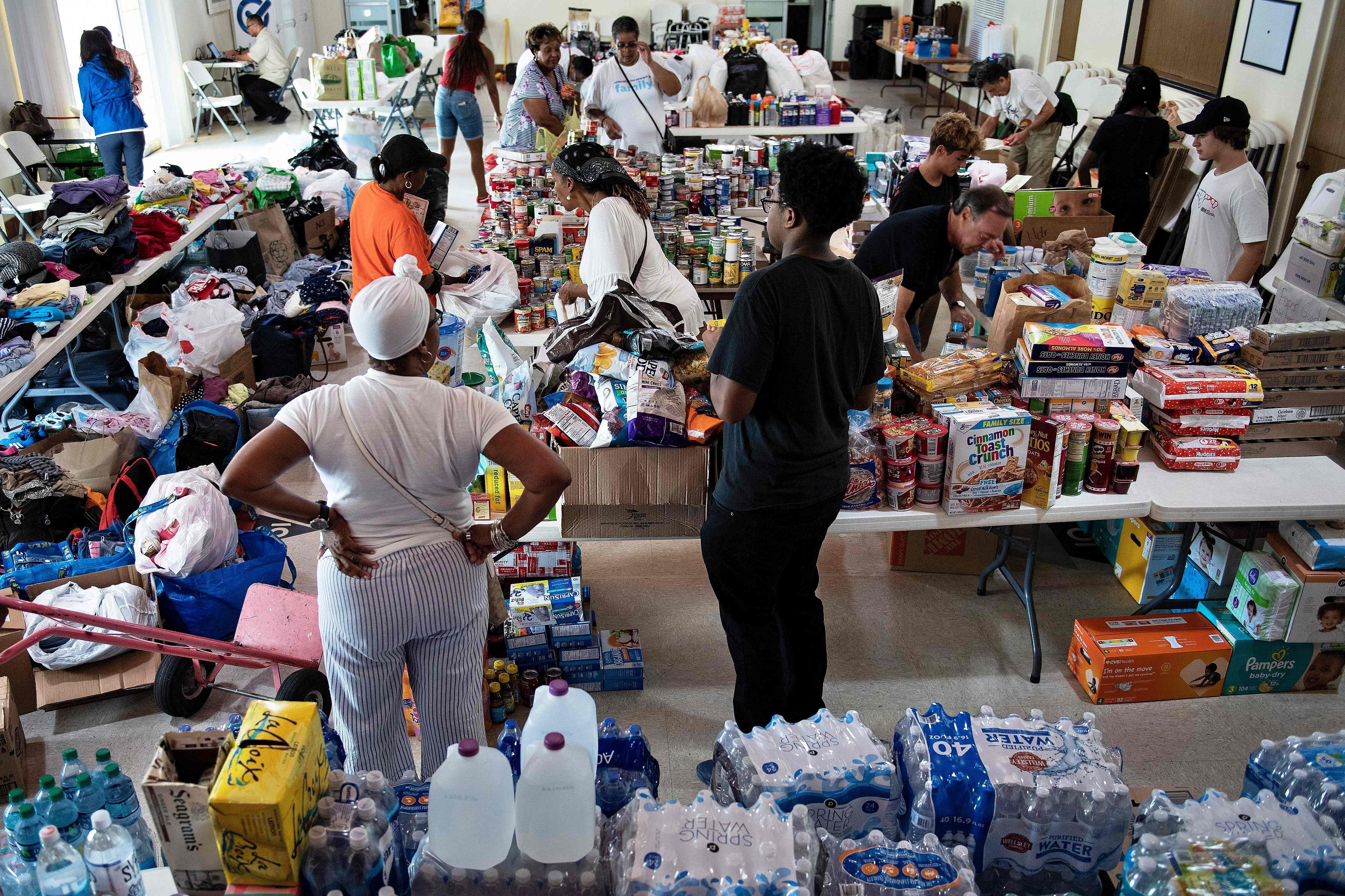 After Hurricane Dorian, Bahamas drowns in flood of donations, including expired food, soiled clothing