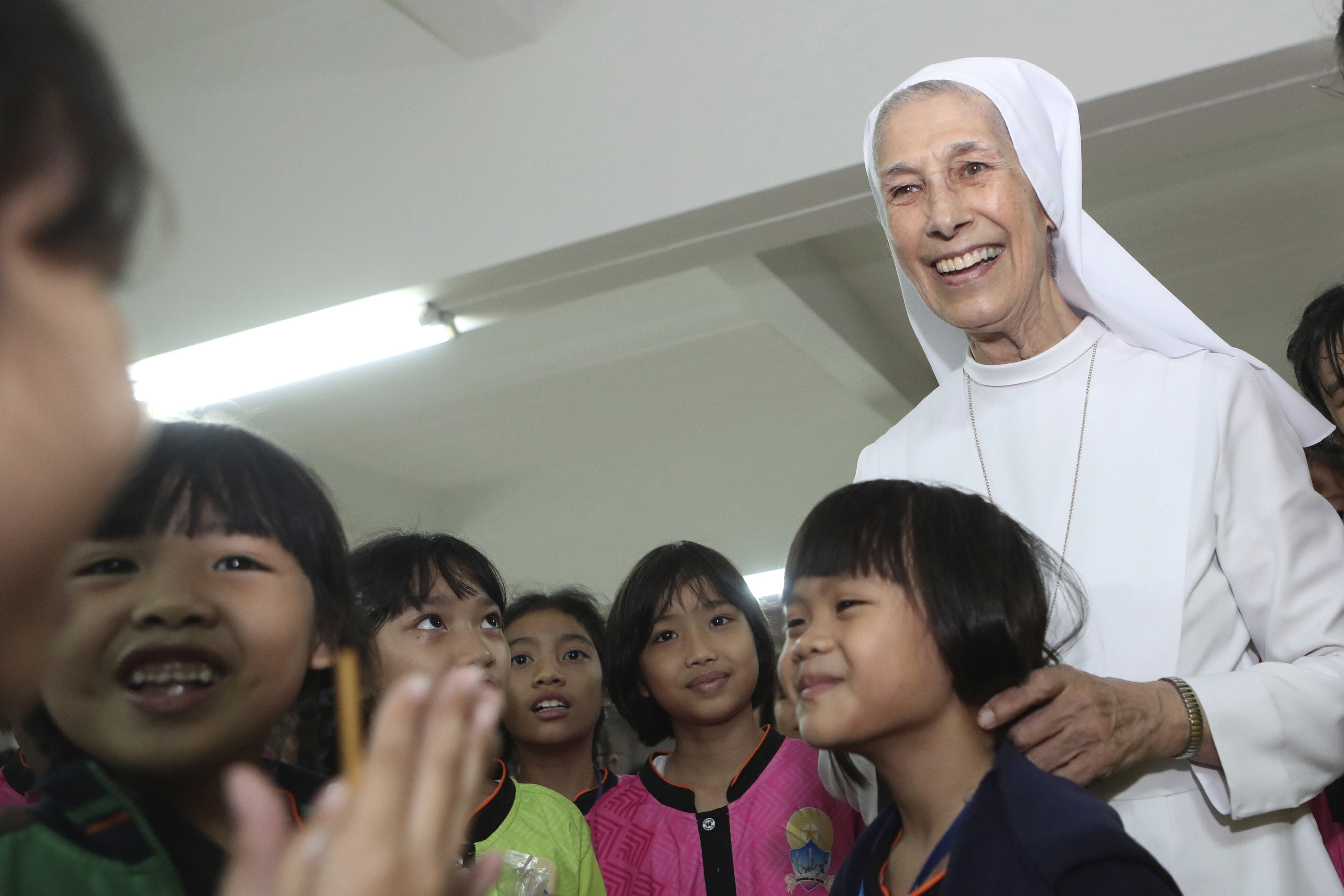 Catholics in Thailand are excited to see Pope Francis, none more than his second cousin