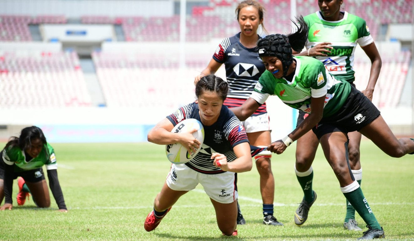 Hong Kong overcome upstart hosts China in final to win second leg of Asia Rugby Sevens Series