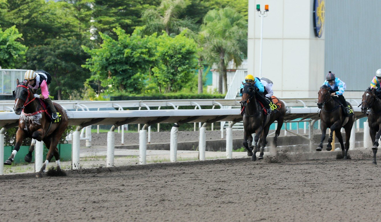 Beauty Rush spaces his rivals in a recent trial.