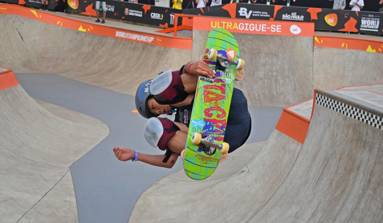 Olympics 2020: Japan skateboard sensation, 13, cools Tokyo talk after world title win