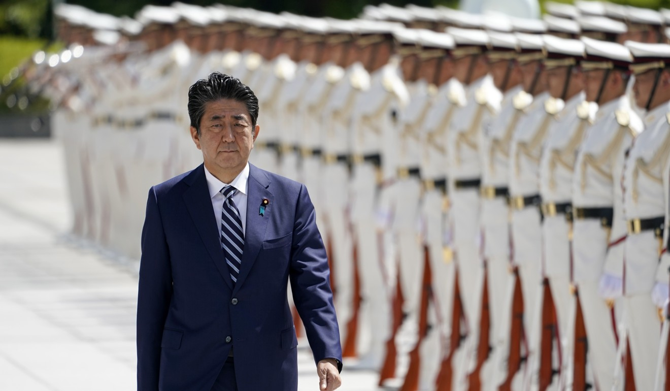 Japan's Shinzo Abe wants a 'space self-defence force' to protect the country's satellites