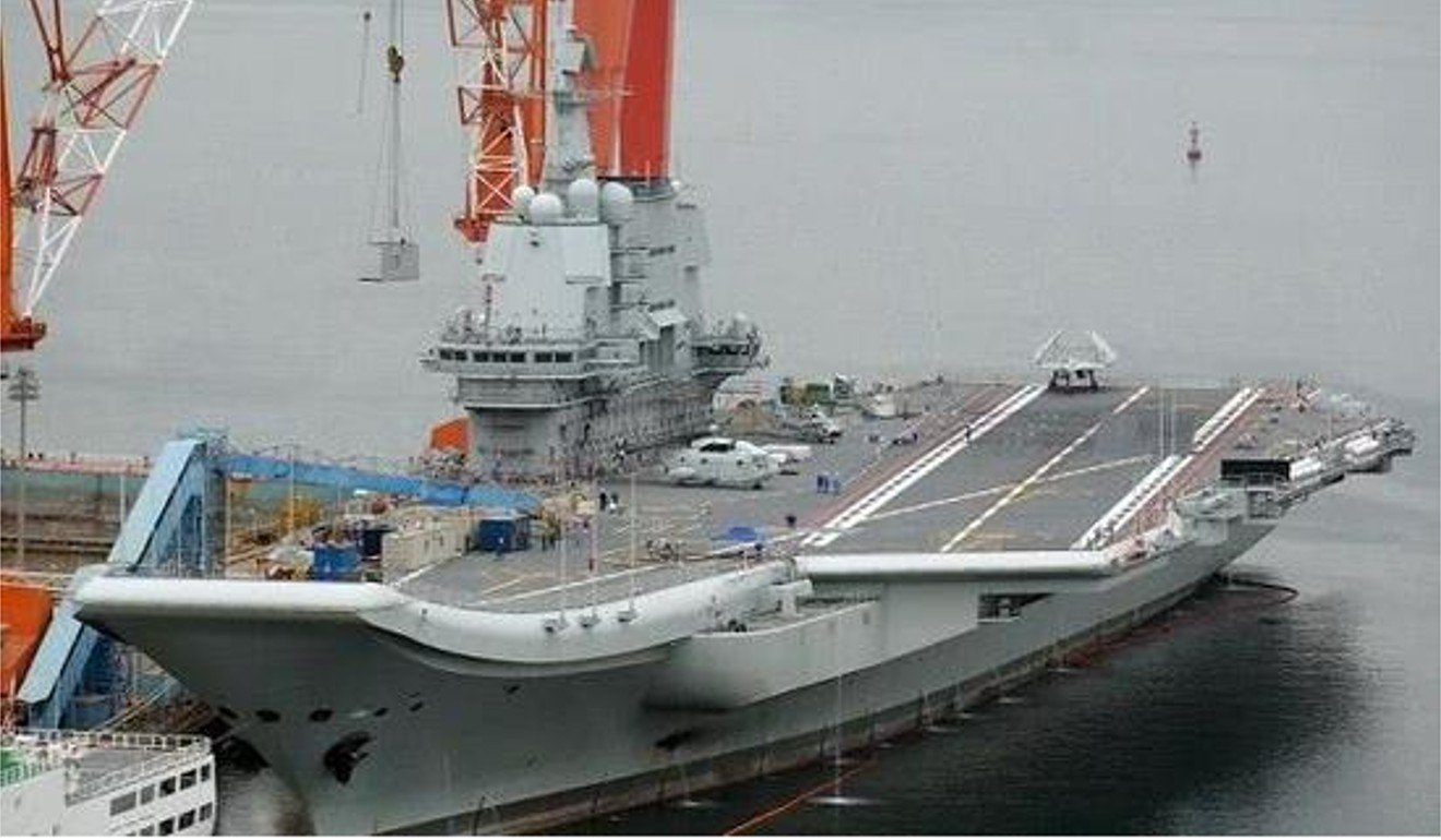 China to deploy Sharp Sword stealth drone for new aircraft carrier
