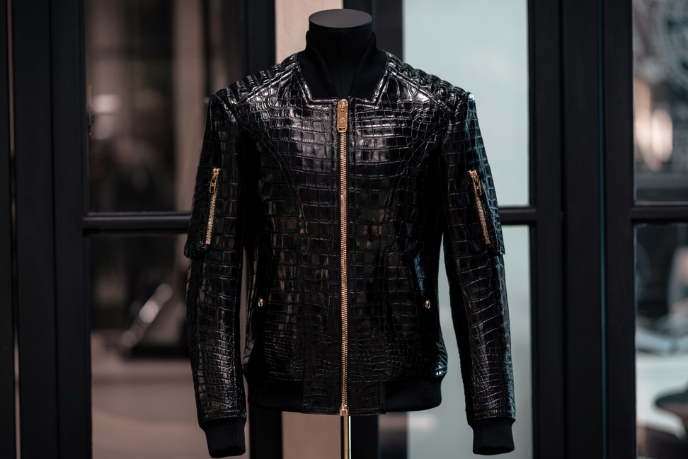 Luxury brand MJZ makes just one item, and it's a black leather jacket that costs up to US$166,000
