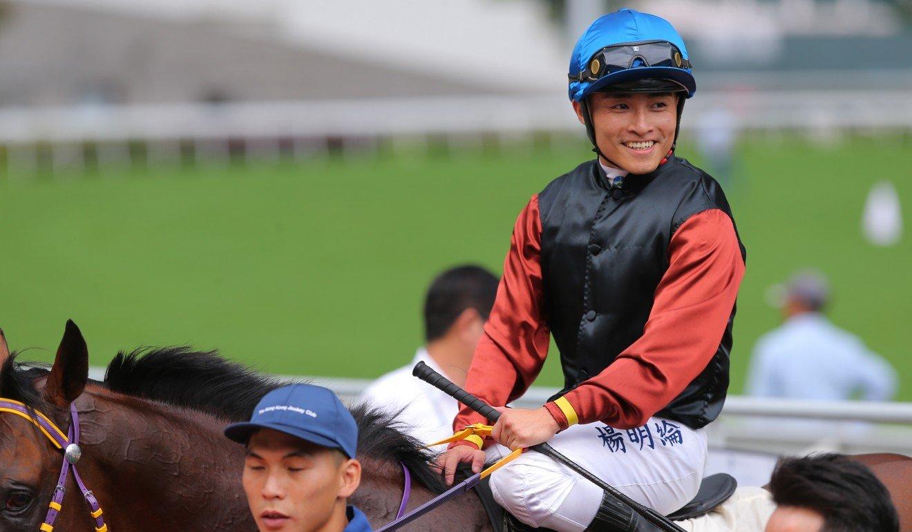 Jockey Keith Yeung aboard Ka Ying Master