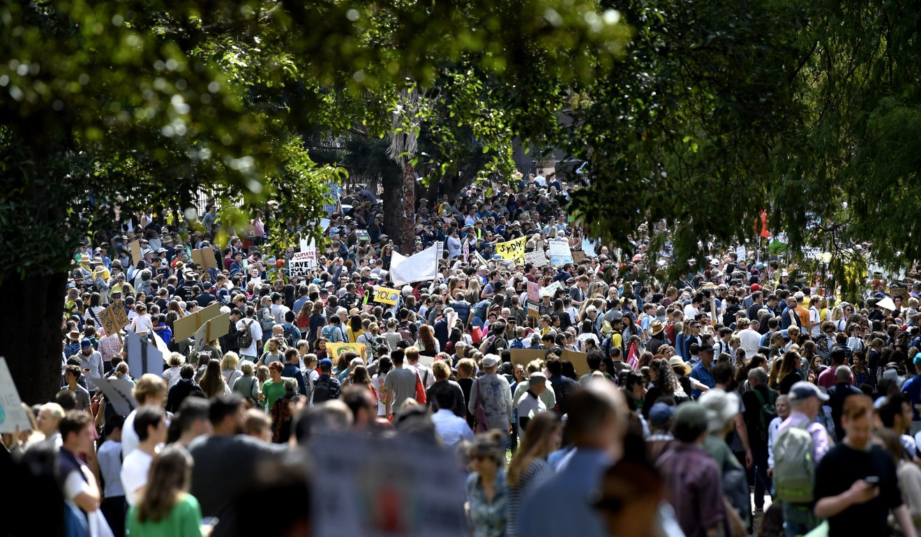 Global climate protests kick off in Australia ahead of UN summit