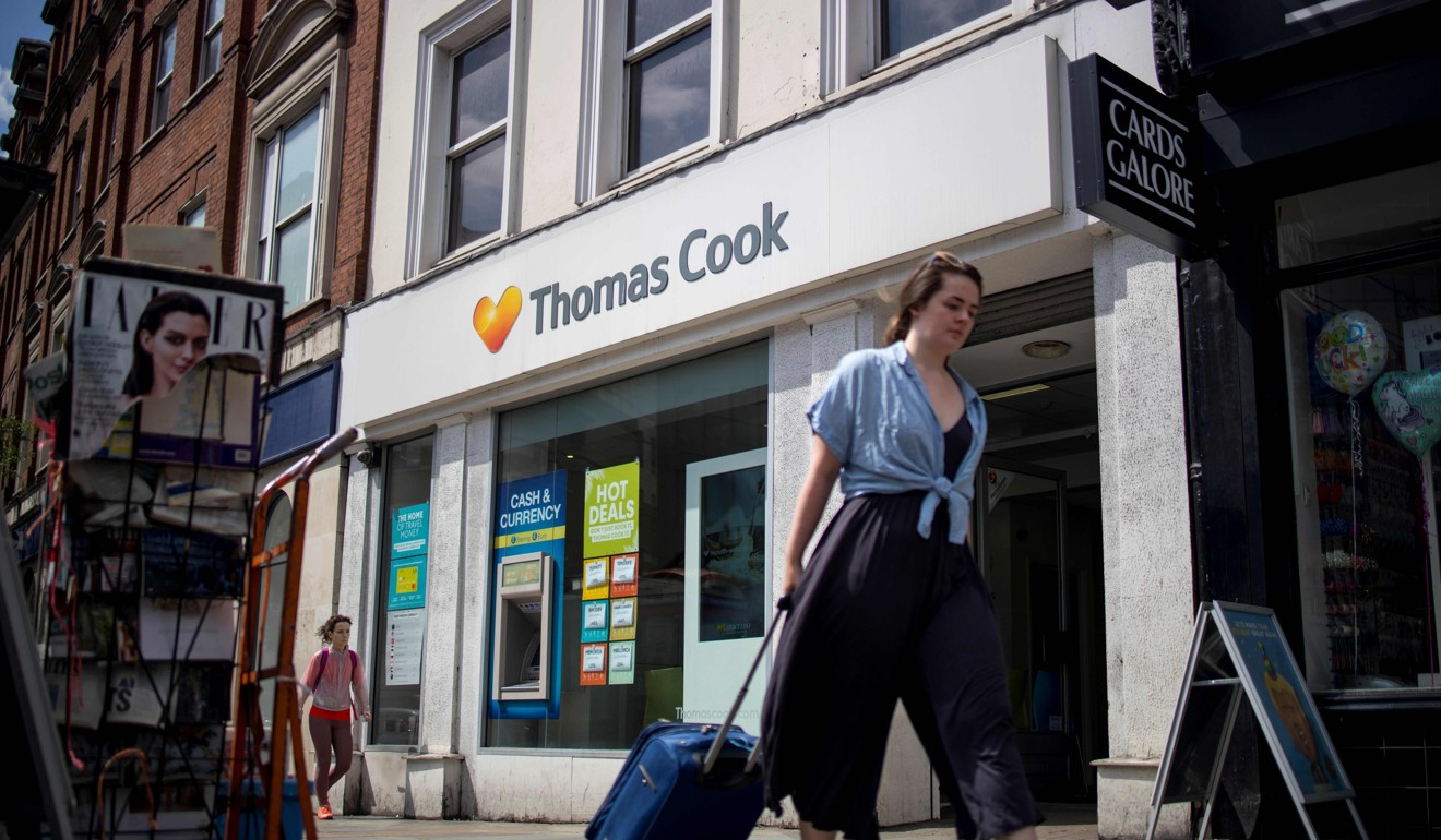 British travel giant Thomas Cook desperate for government intervention after company fails to find US$250 million funds to avert collapse