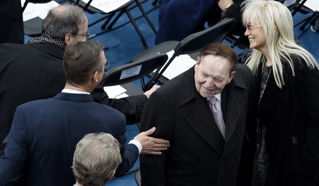 Republican billionaire donor Sheldon Adelson reportedly cautioned Trump that trade war with China could hurt re-election prospects