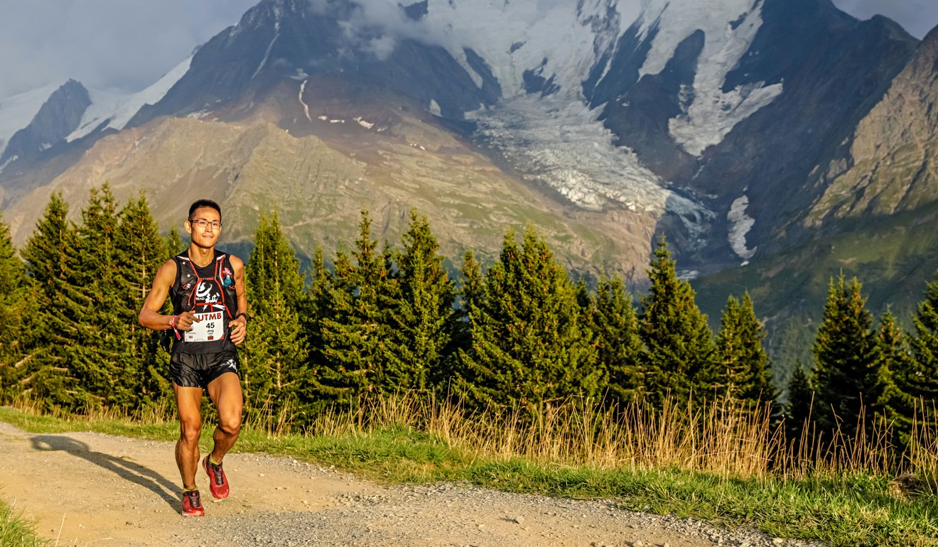 Jing Liang at the UTMB – a hard man from a hard background. Photo: UTMB
