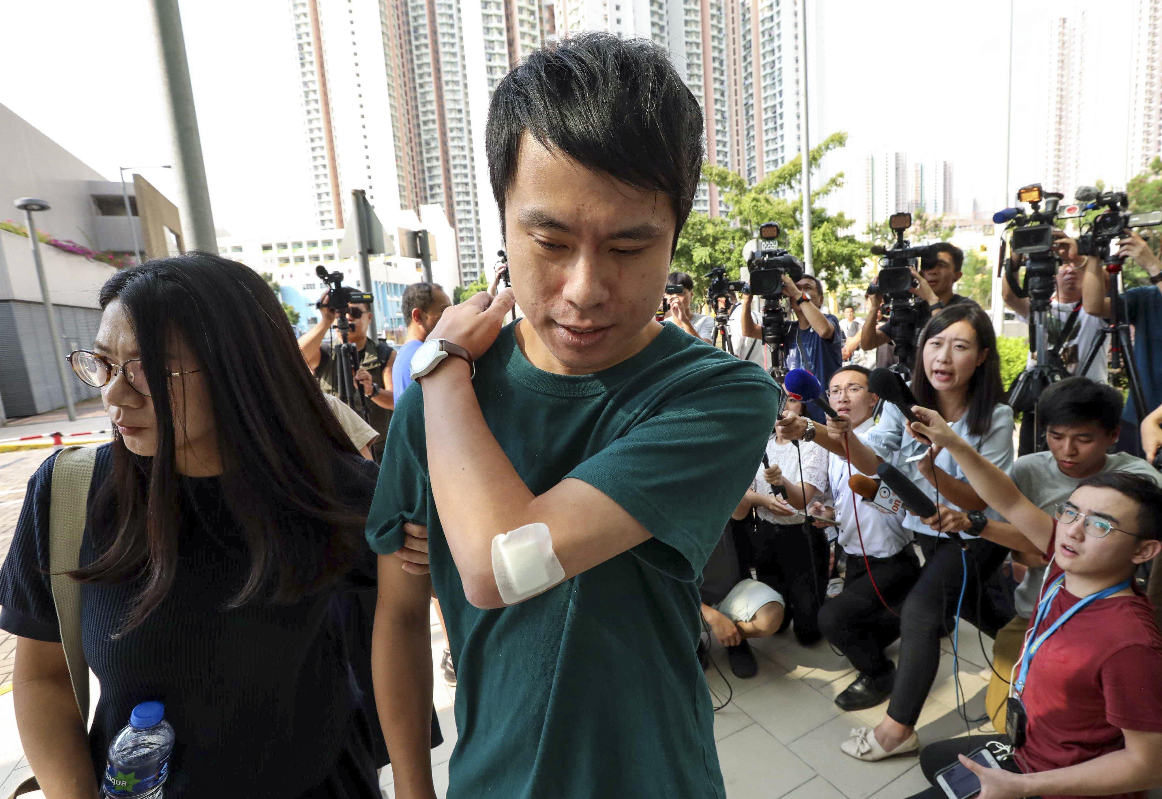 Andrew Kwong pro-democracy hong kong lawmaker roy kwong hospitalised