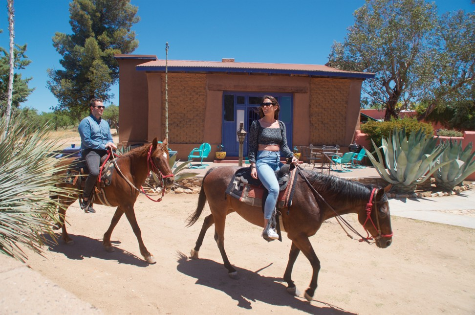 At historic Arizona ranch on the border with Mexico, follow in the footsteps of US presidents and a certain John Wayne