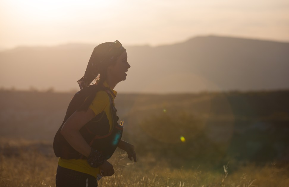 The rolling hills on the Cappadocia are part of the challenging, runnable course.