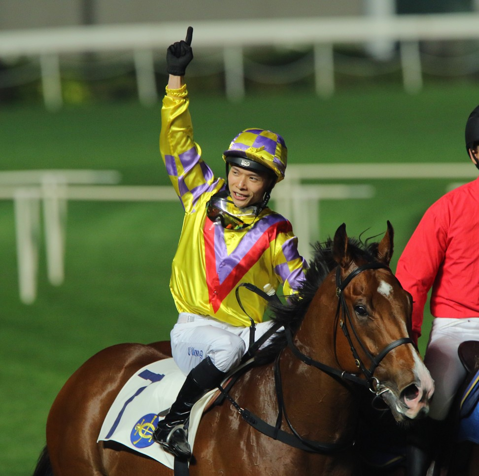 Victor Wong is on track to return to riding in December.