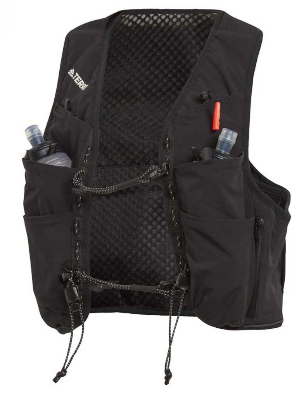 The Adidas Agravic has pouches for water on the front. Photo: Adidas