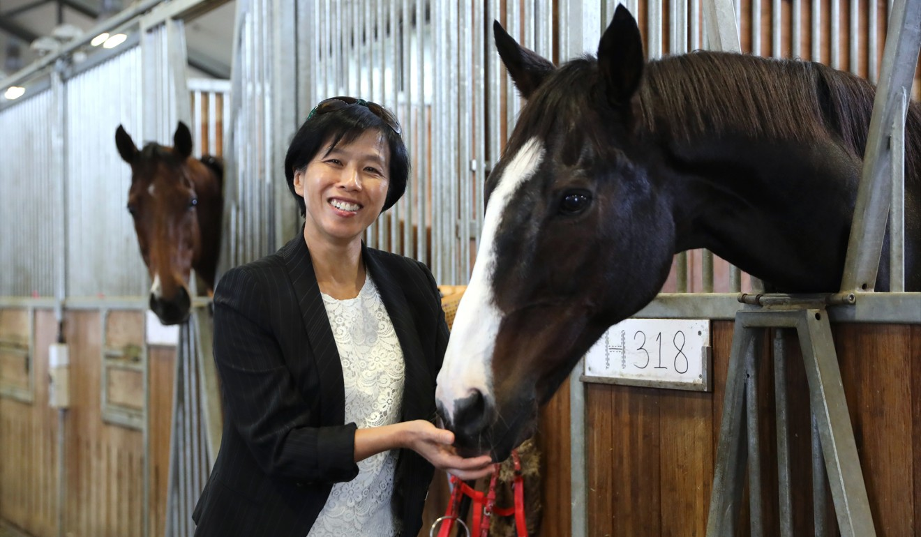 Jockey Club Apprentice Jockeys' School headmistress Amy Chan. Photo: K.Y Cheng