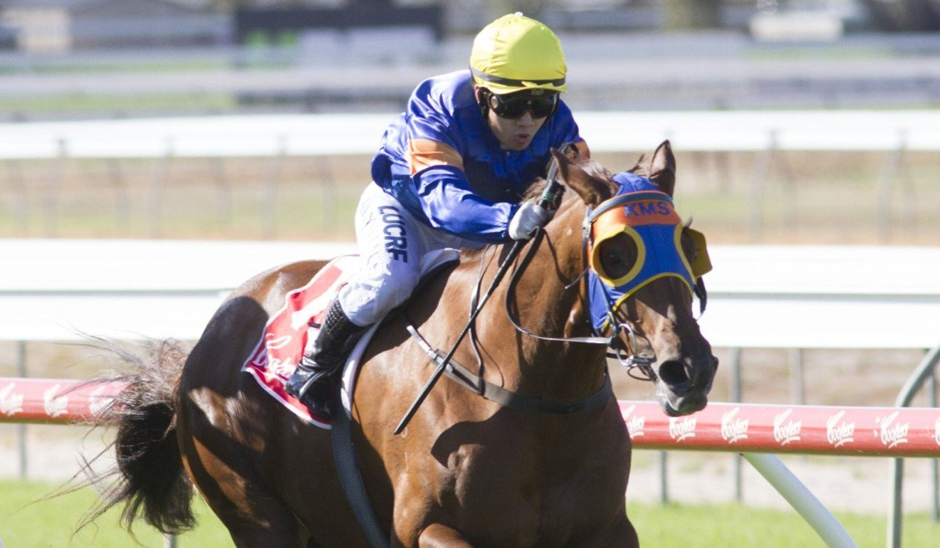 Kenny Lau wins aboard Our Prospect at Gawler in April last year.
