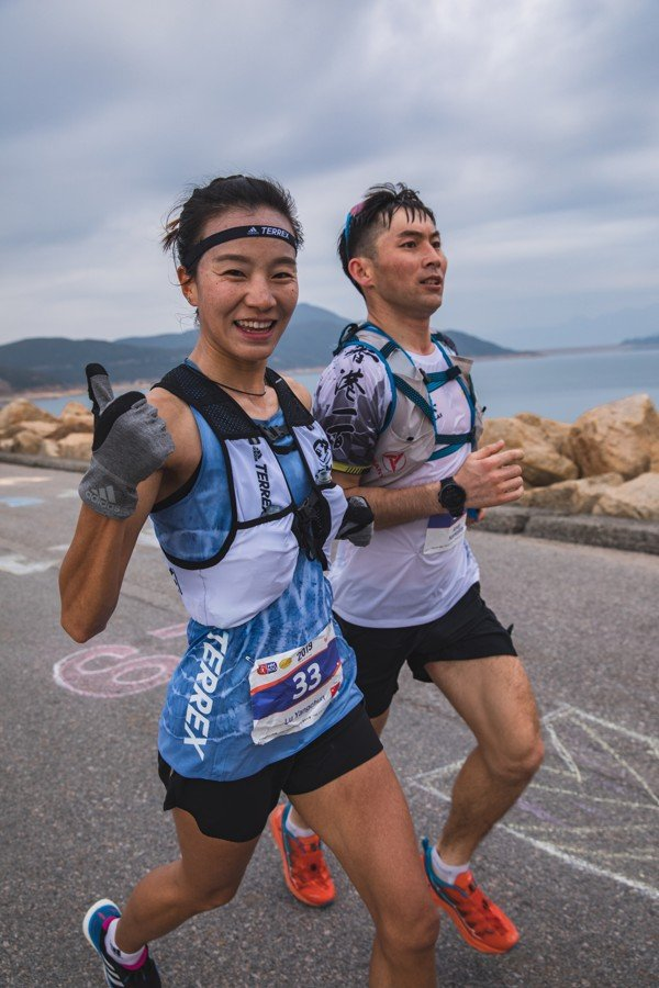 Lu Yangchun entered Hong Kong 100 to try the 100km distance for the first time. Photo: Adidas Terrex