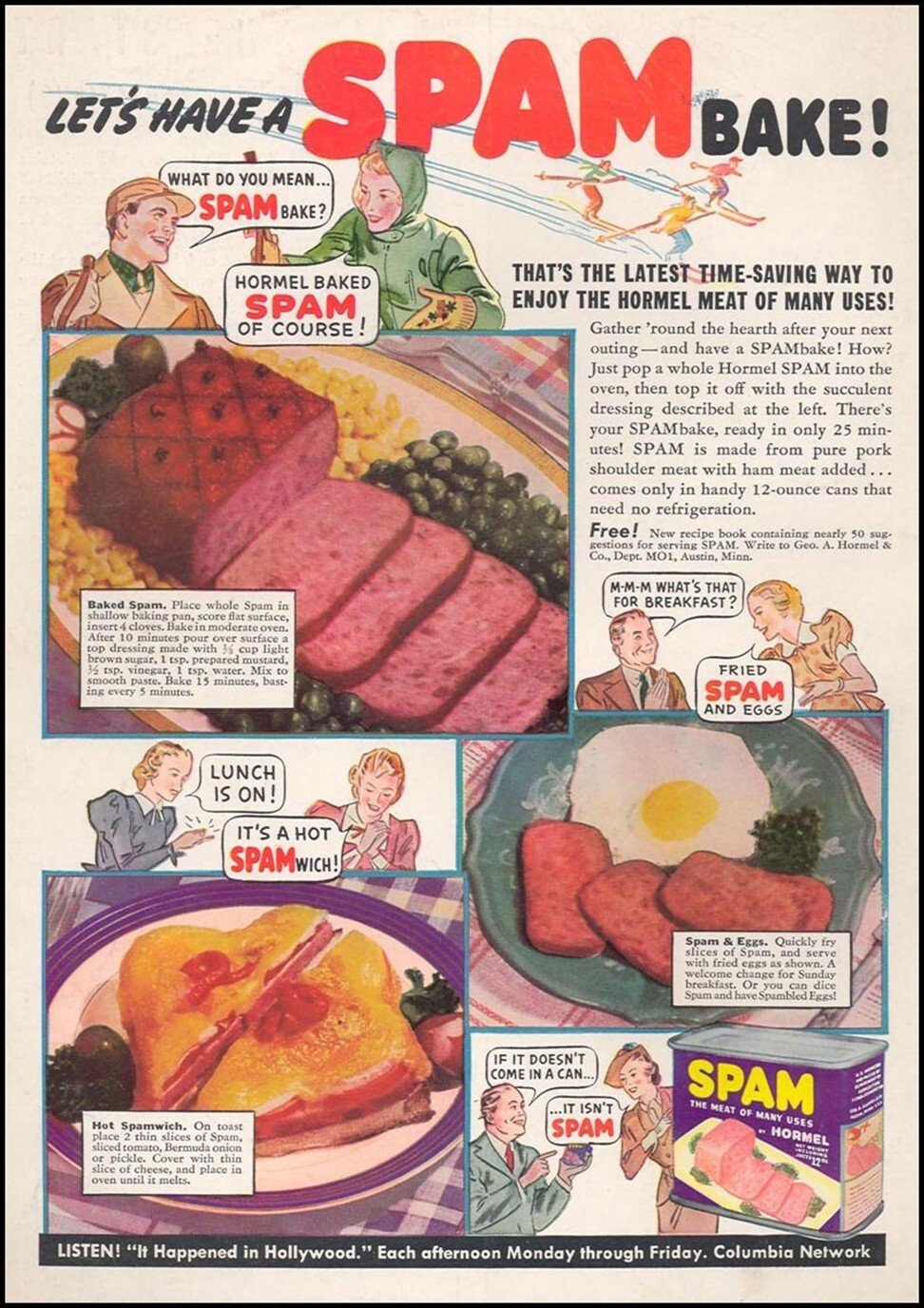 Versatility was a major selling point when Spam first hit the shelves 80 years ago.