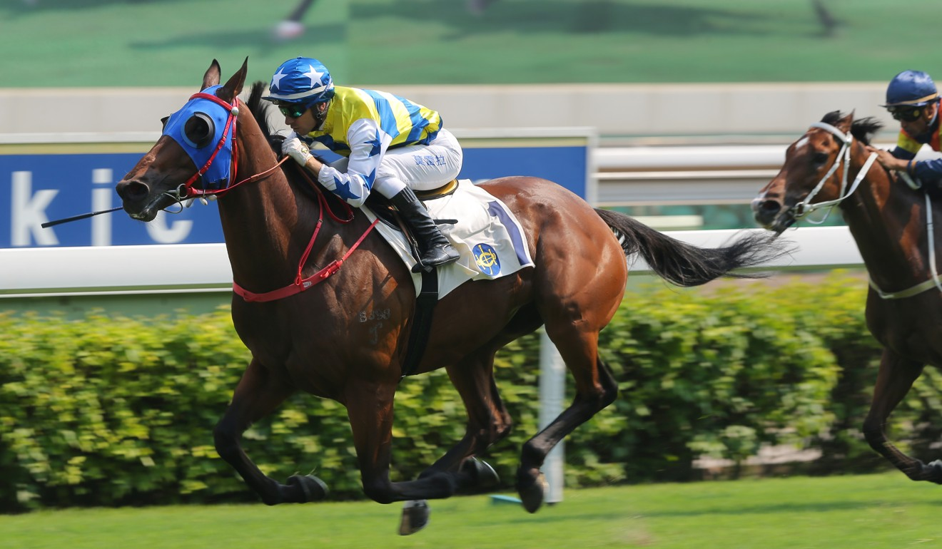 Joao Moreira' sits quietly on Smart Patch to win at Sha Tin on Tuesday.