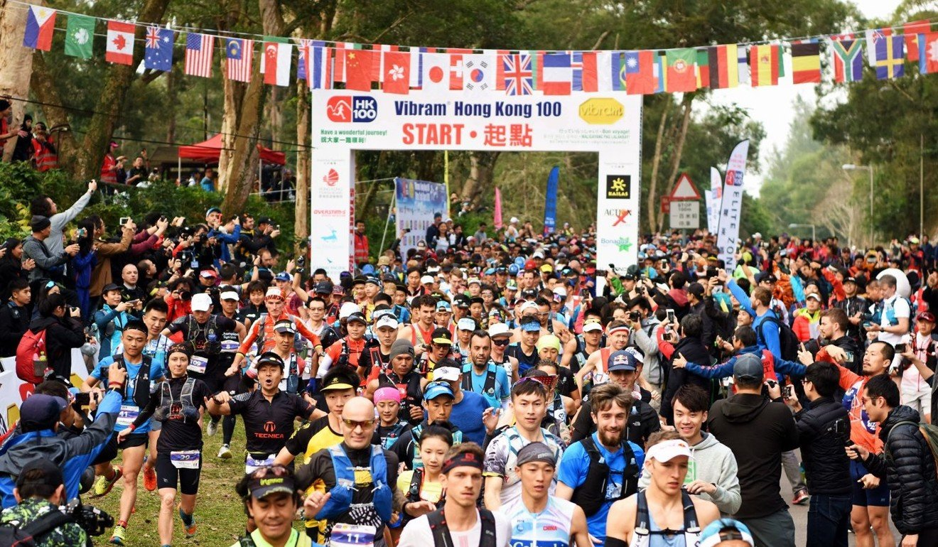 Races like the Hong Kong 100 have first-time 100km runners and full-time athletes, and a grey area in between of semi-professionals. Photo: HK100