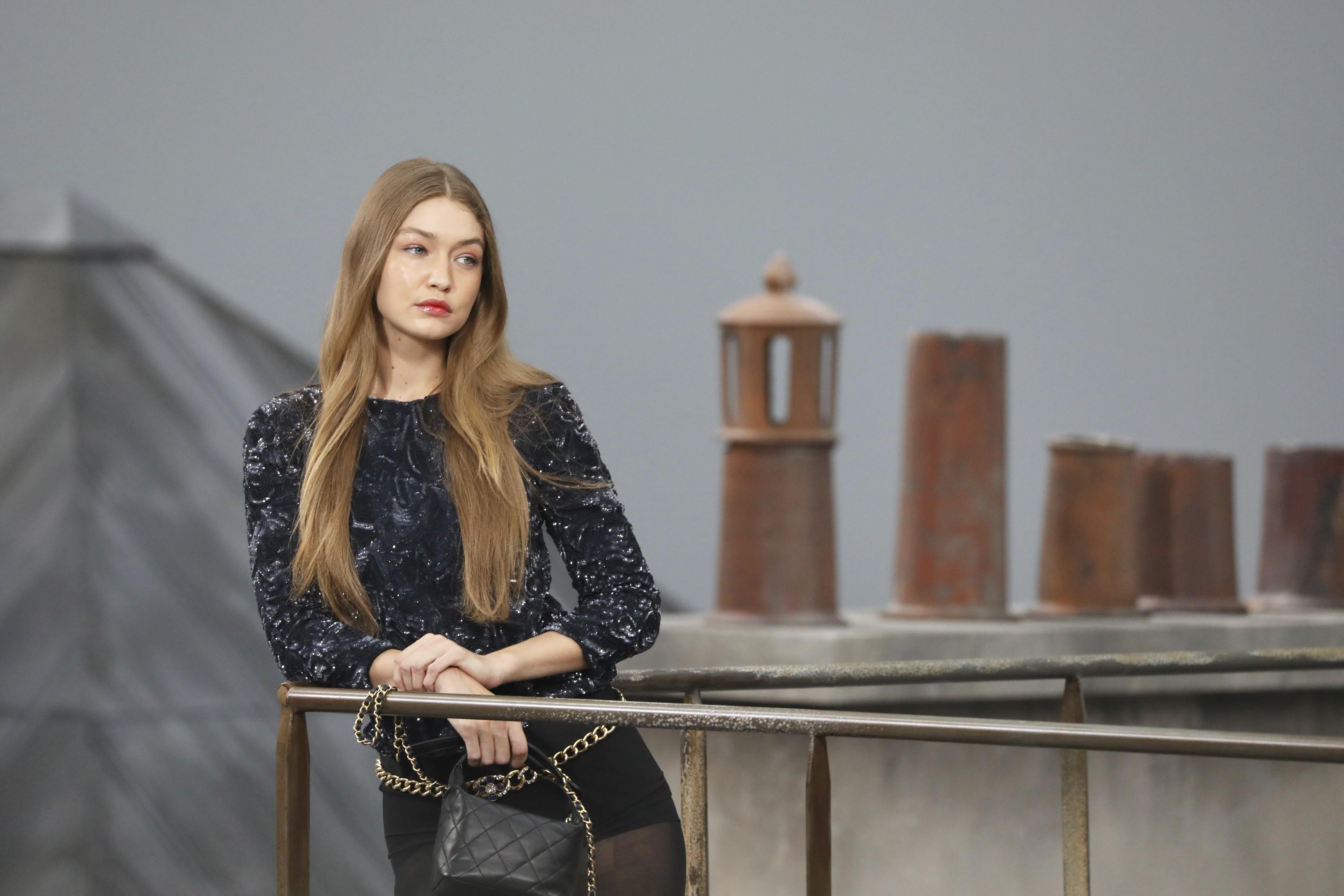 Paris Fashion Week Why did Gigi Hadid accost a French