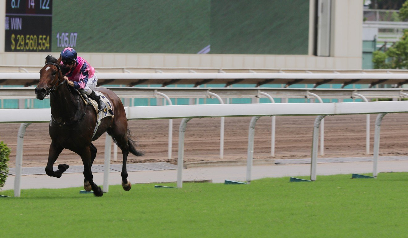 Chicken Dance wins easily at Sha Tin.