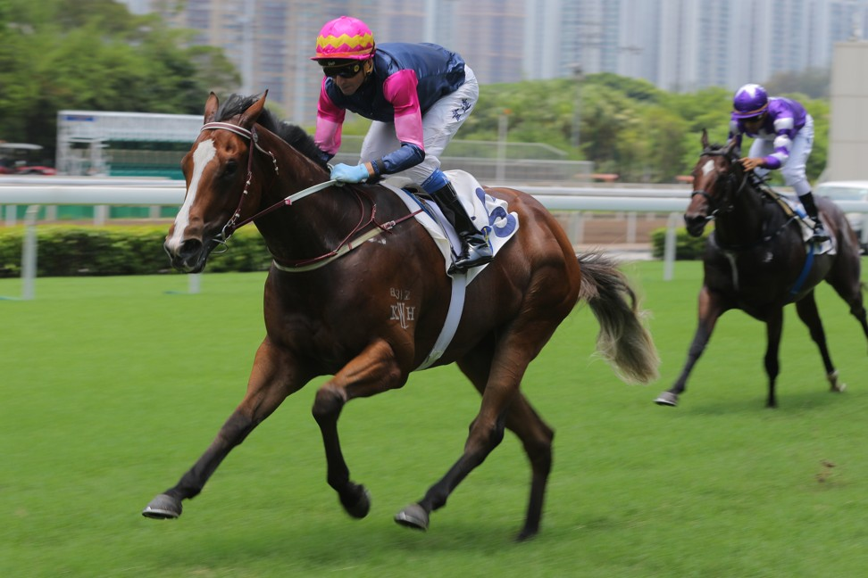 Thanks Forever's three wins have come over the straight 1,000m.