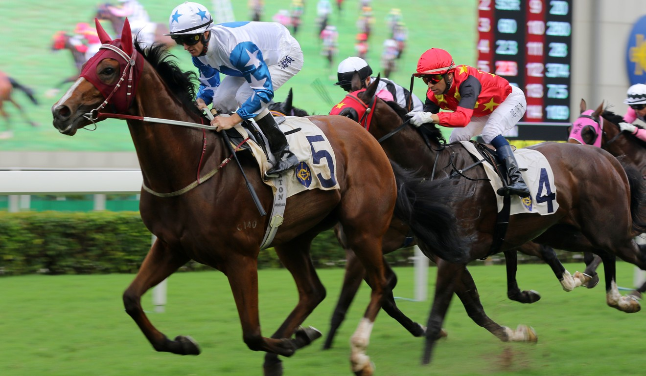 Uncle Steve wins at Sha Tin in May.