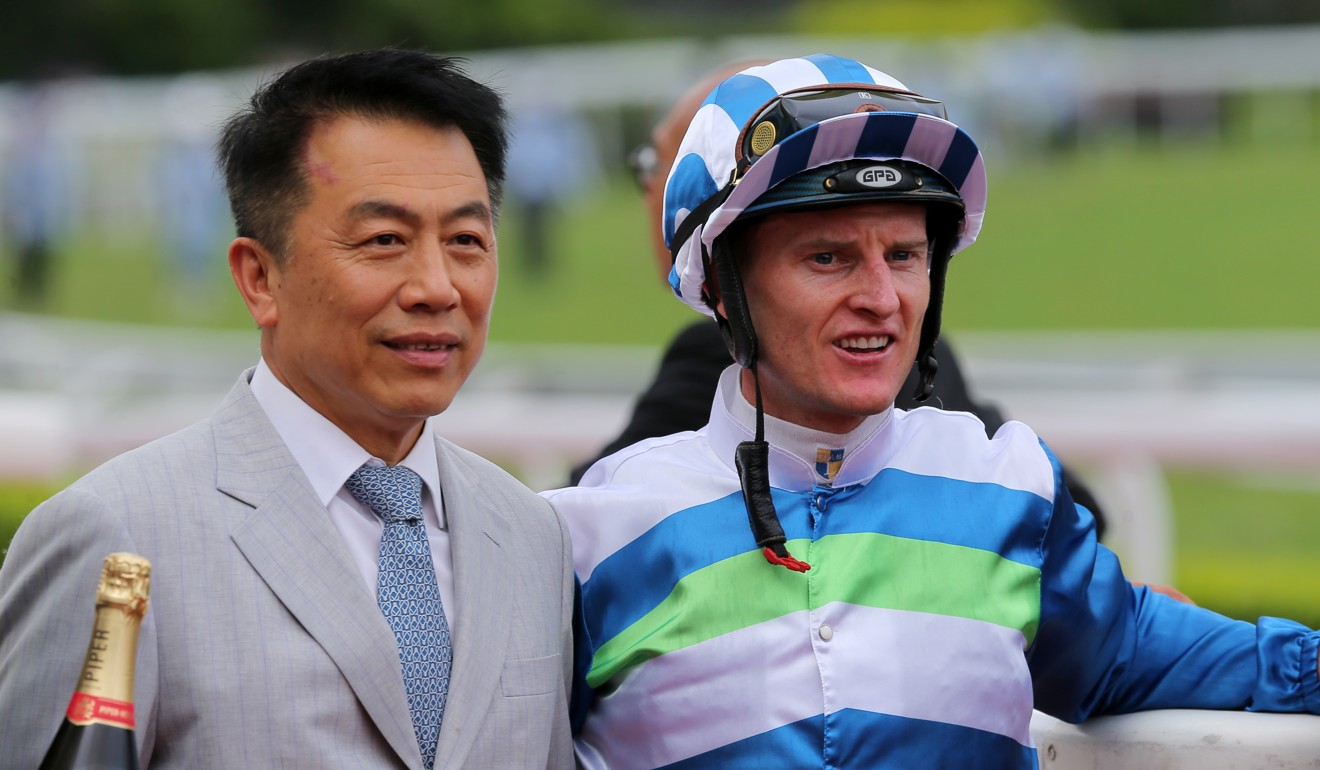 Trainer Ricky Yiu and jockey Zac Purton team up with Voyage Warrior on Saturday.