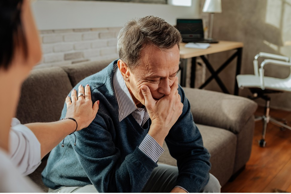 Men account for three-quarters of suicides in the UK. Photo: Alamy