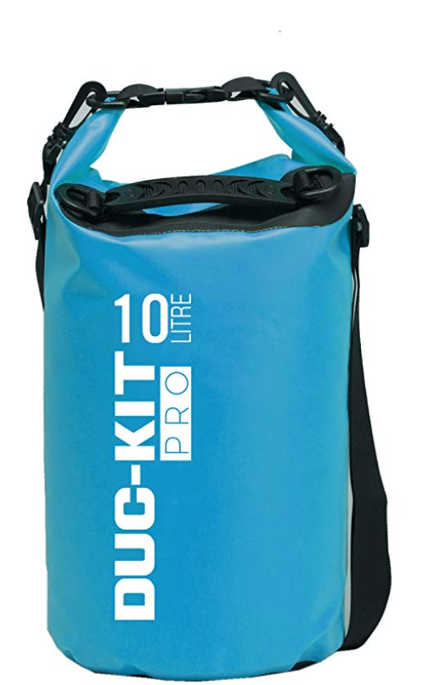 Duc-Kit dry bag is simple but effective. Photo: Duc-Kit
