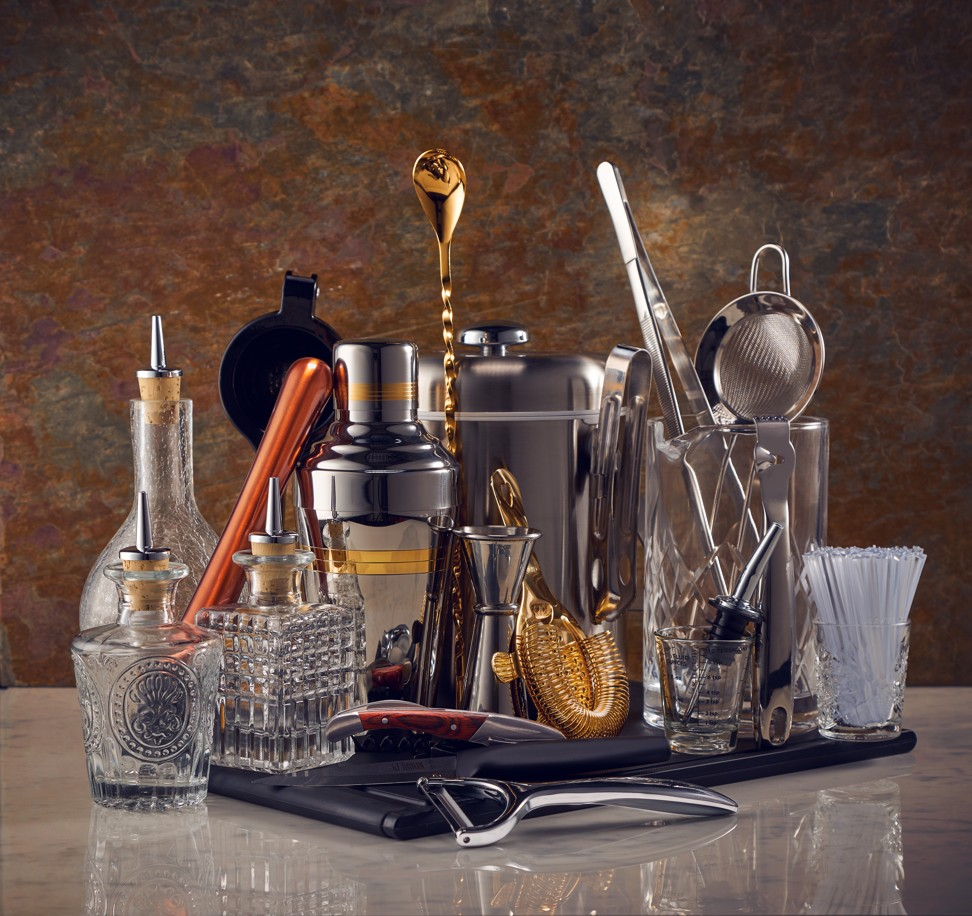From cocktail shakers to wine coolers – everything you need to be a master mixologist when hosting at home