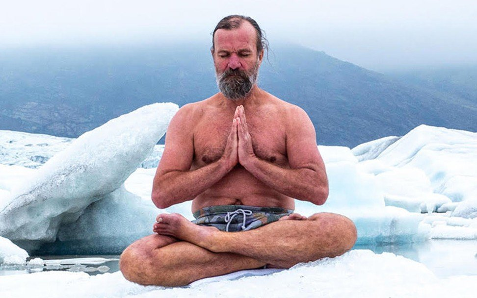 An interview with Wim Hof, the 'Iceman' wellness guru who claims cold showers are the key to a happy life