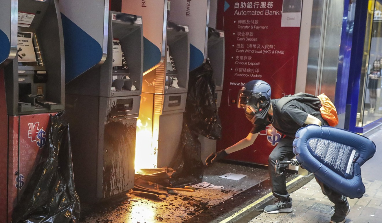 The Hong Kong Bar Association has been shamefully silent on protester violence and those who support it