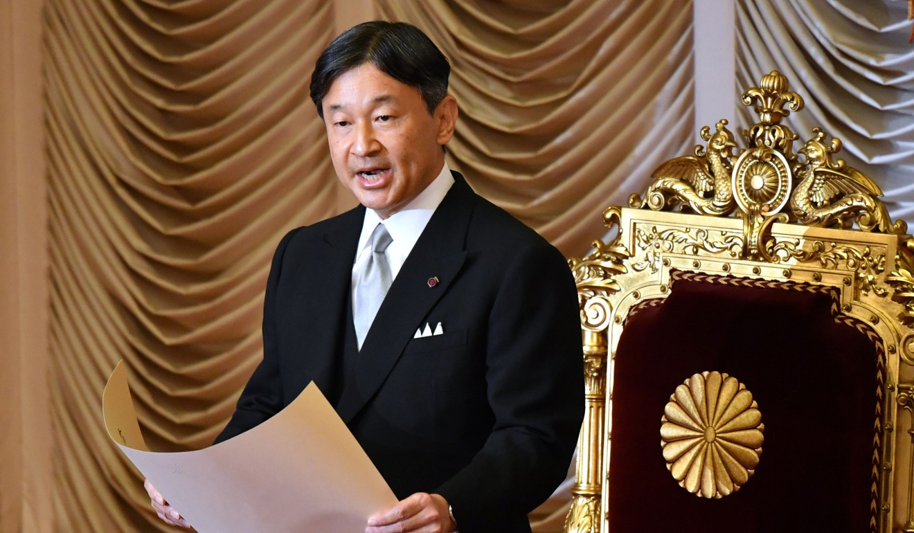 Shinzo Abe's rivals warn against political pardons to mark Japanese Emperor Naruhito's enthronement