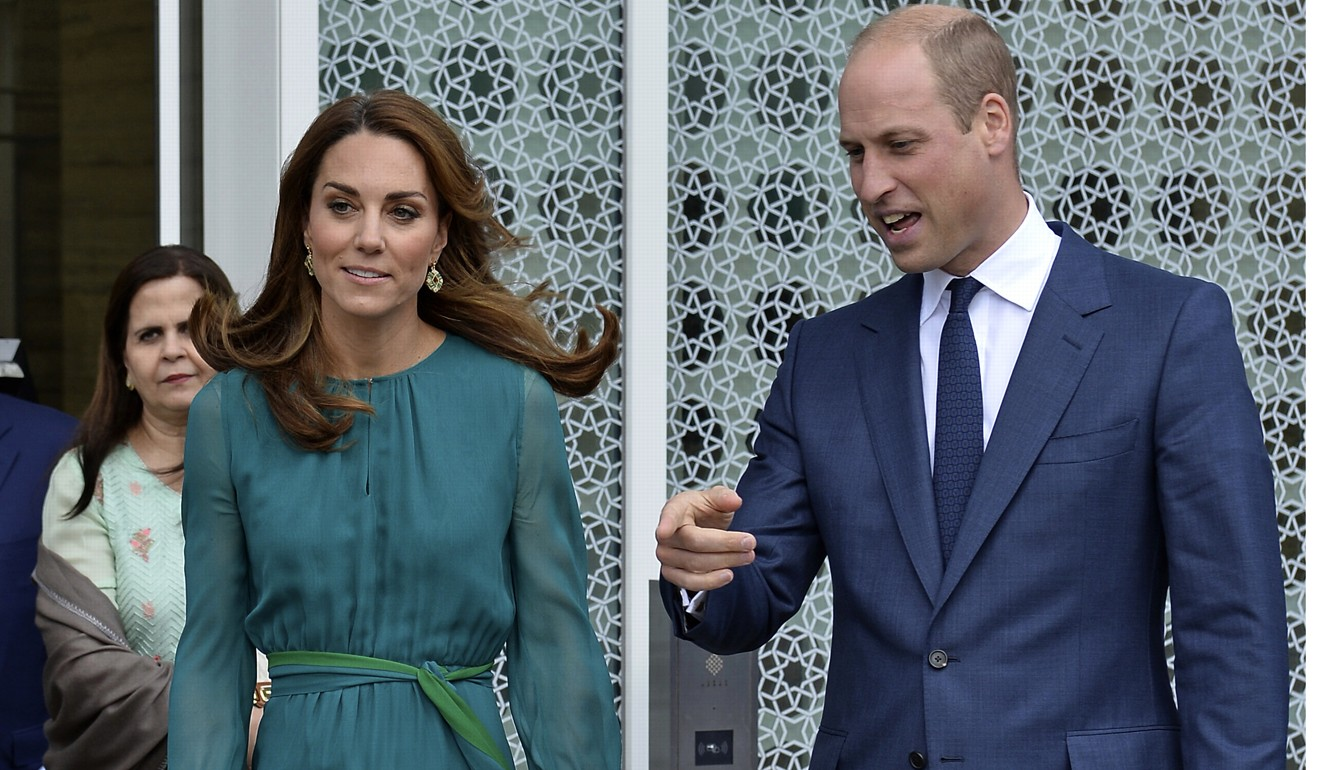 1,000 policemen on guard as Pakistan welcomes Prince William and Kate Middleton