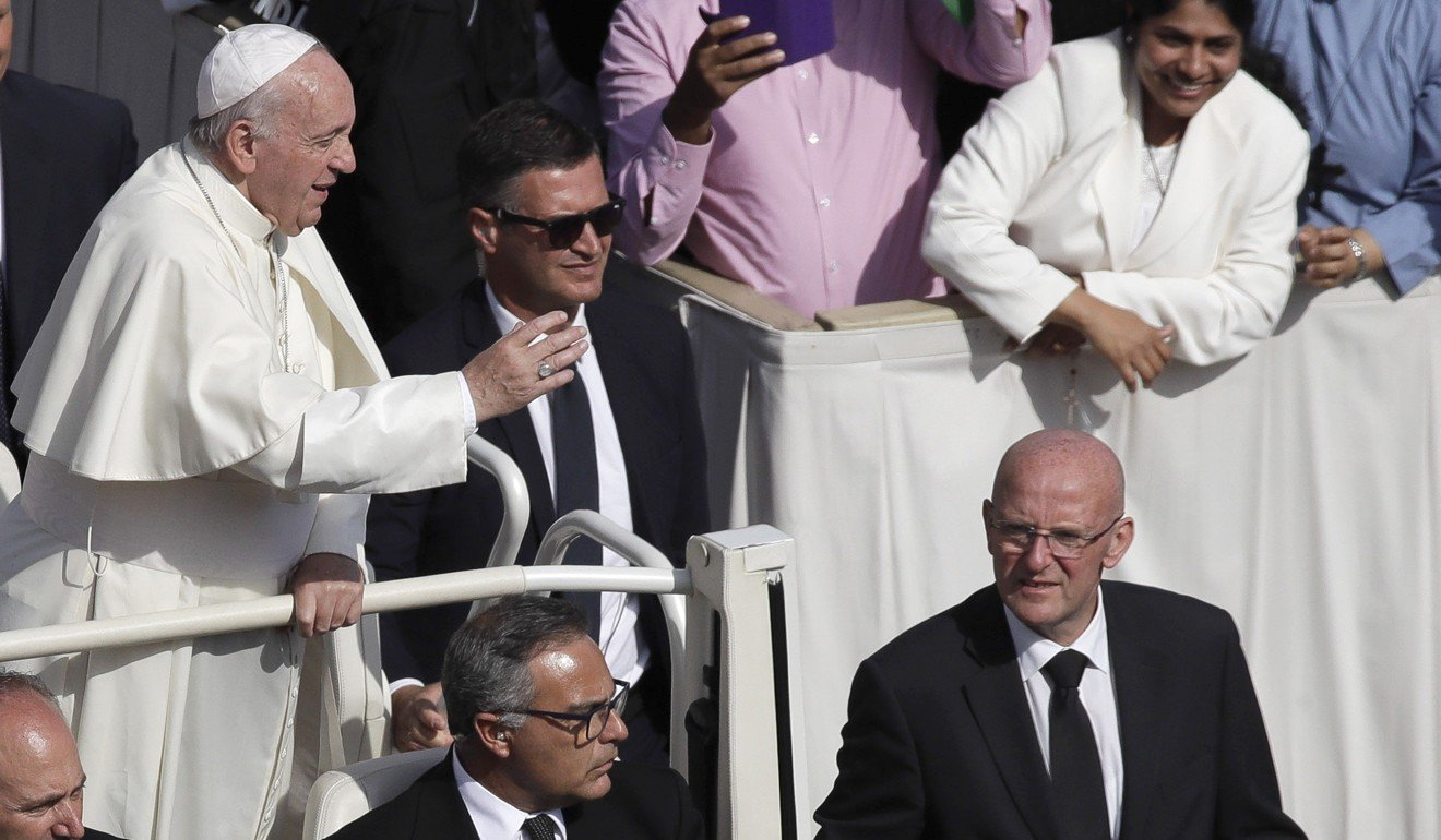 Why furious Pope Francis forced his top bodyguard to resign