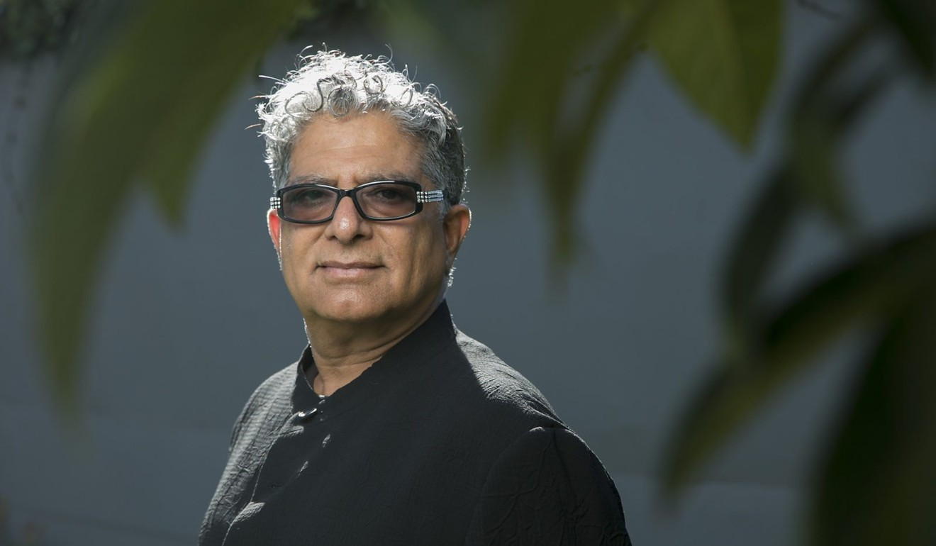 Inflamed Trump must drop Big Macs, says guru Deepak Chopra, talking about his 90th book, Metahuman