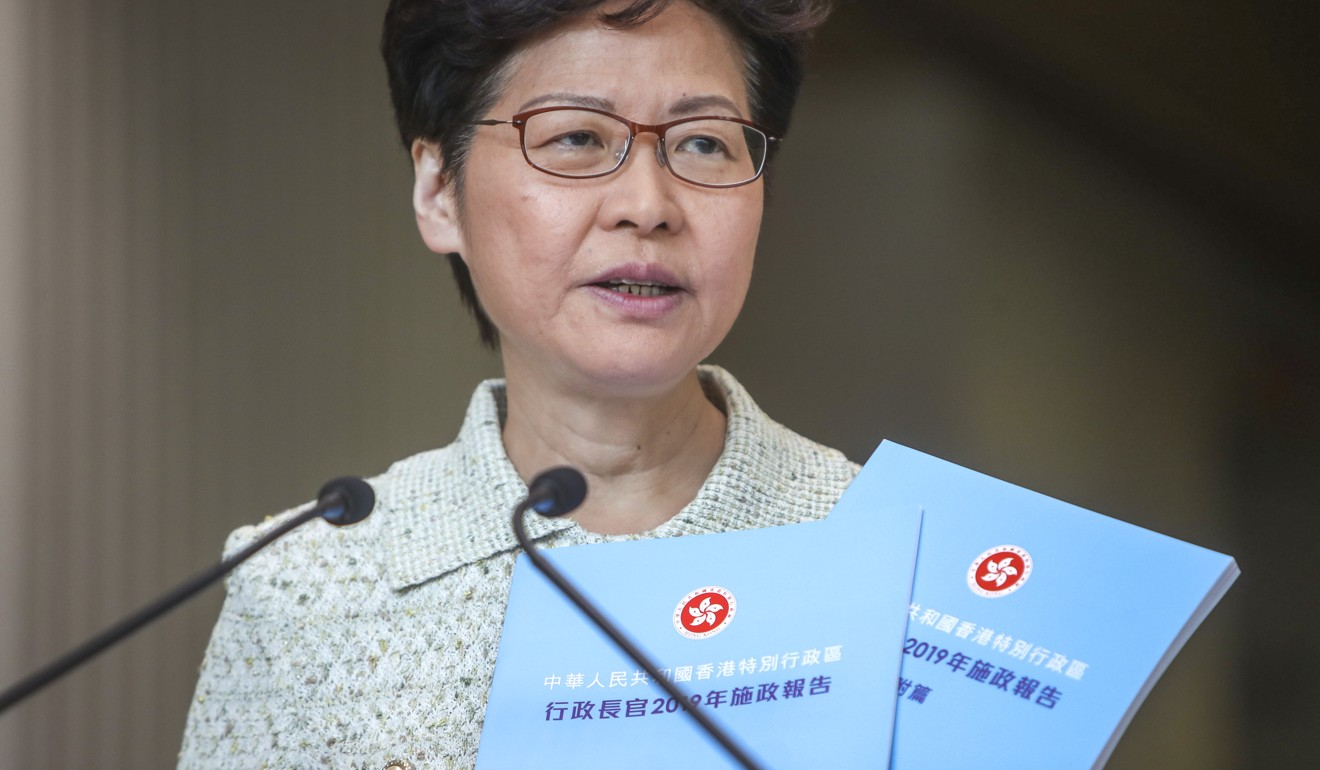 Carrie Lam wants 'storm in Hong Kong to end soon' and will zero in on housing in her policy address but critics urge her to go for bold reforms. Will she or will not she?