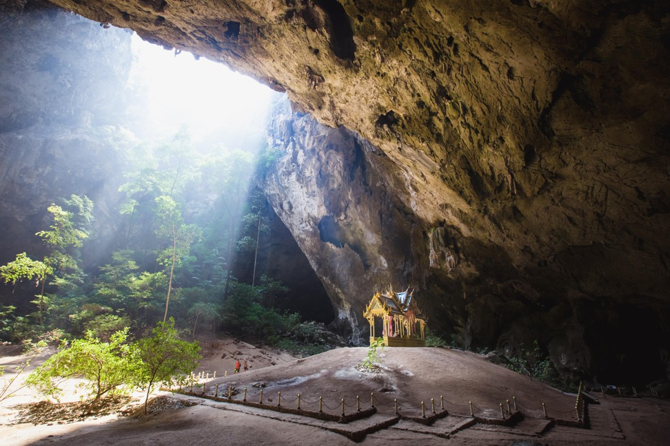 The extraordinary Phraya Nakhon Cave at Khao Sam Roi Yot National Park. Photo: Alamy