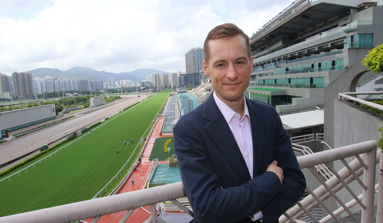 Blake Shinn at Sha Tin in September.