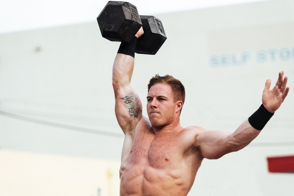 Ohlsen's happy-go-lucky personality has won him multiple fans in the CrossFit world. Photo: Handout