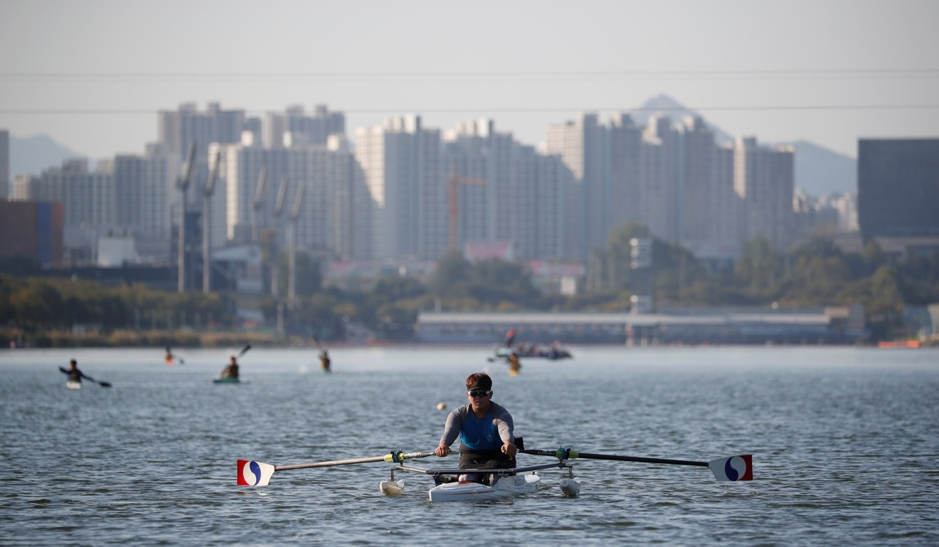 South Korean soldier Ha Jae-hun lost both legs to DMZ landmine. Now he's chasing rowing gold at Paralympics