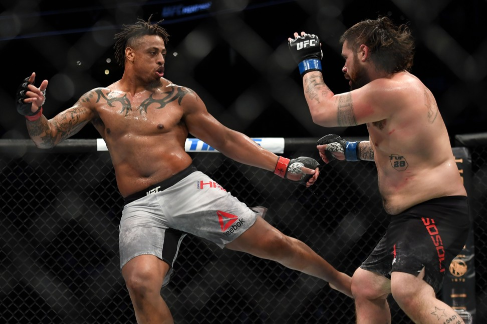 Greg Hardy's UFC Boston win ruled a no contest for use of inhaler between rounds