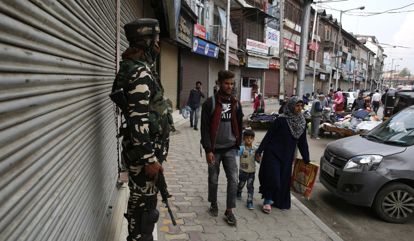 Reporting on the silence of siege in Kashmir